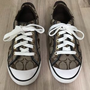 Coach Barrett Brown sneakers sz 6.5